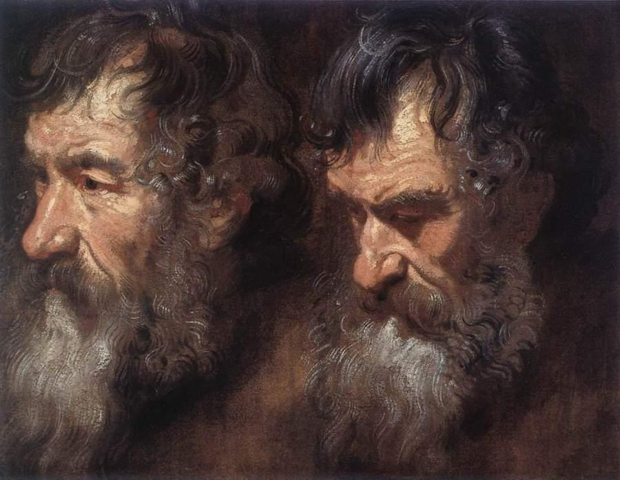 Ван Дейк головы старца