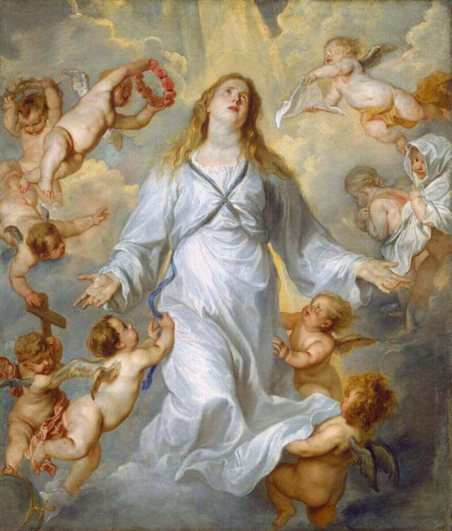 Ван Дейк вознесение Марии