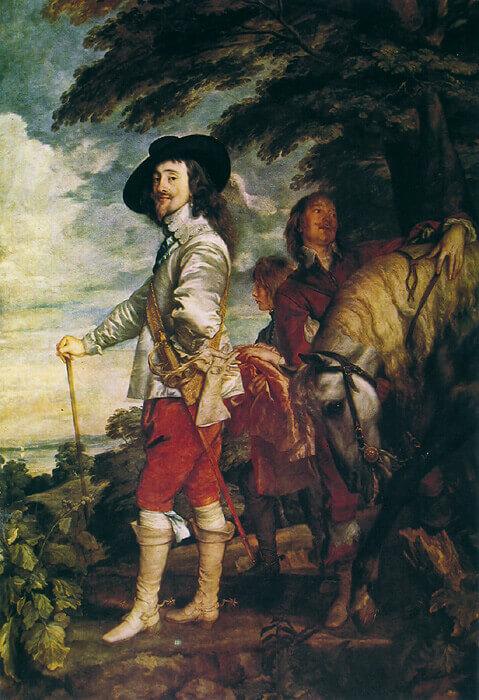 Ван Дейк Карл 1 на охоте