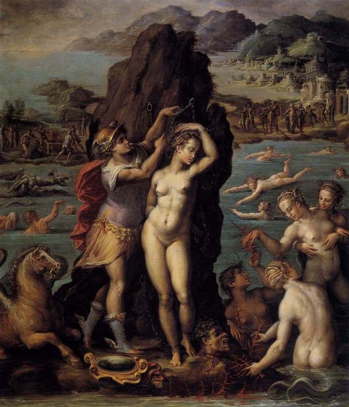 Вазари Персей и андромеда