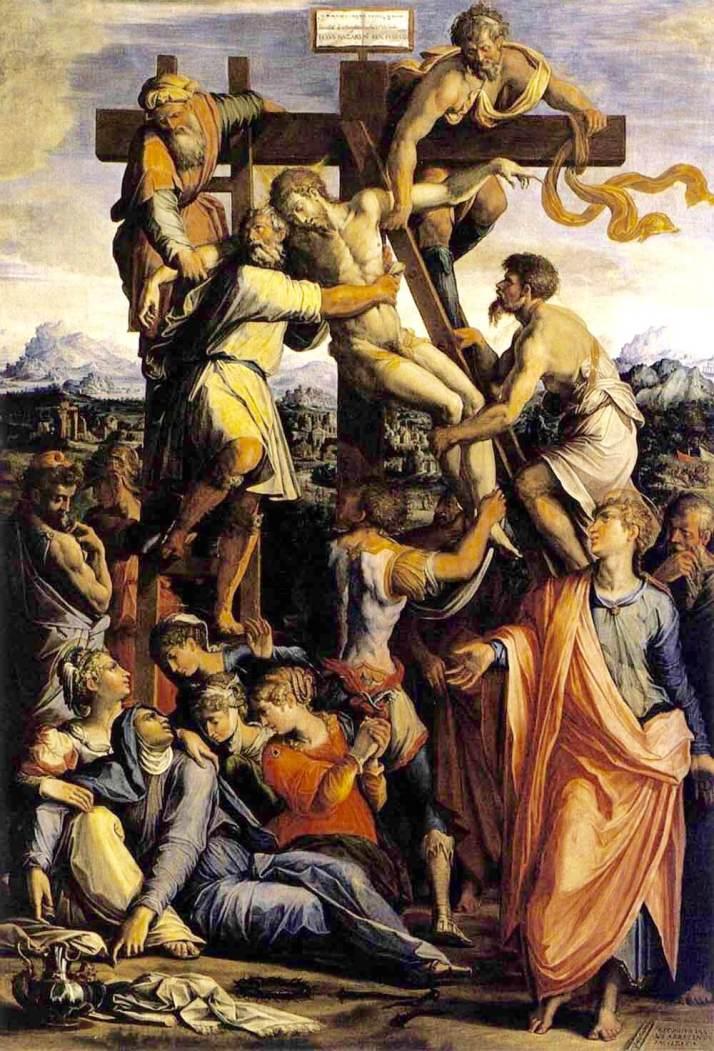 Вазари снятие с креста