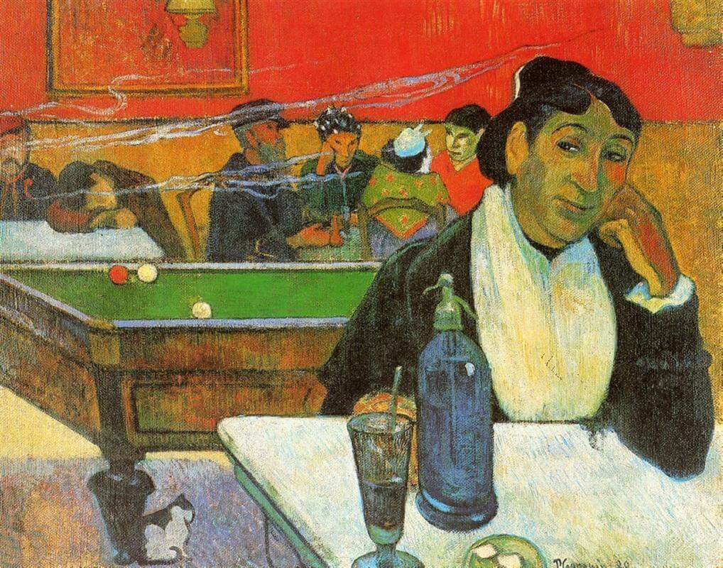 Гоген в ночном кафе