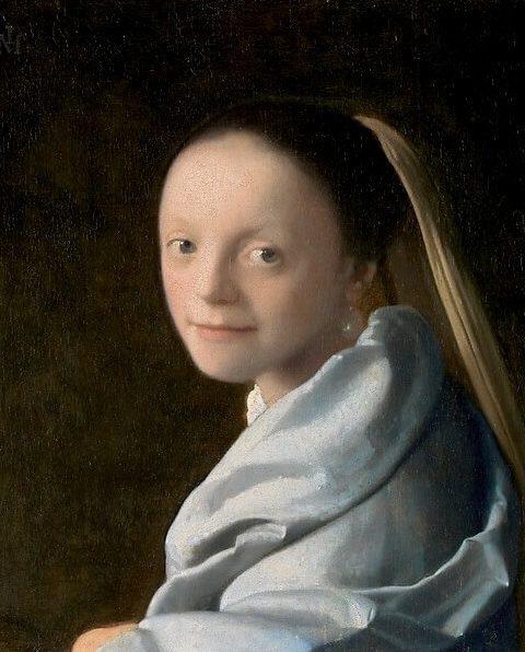 Вермеер портрет девушки