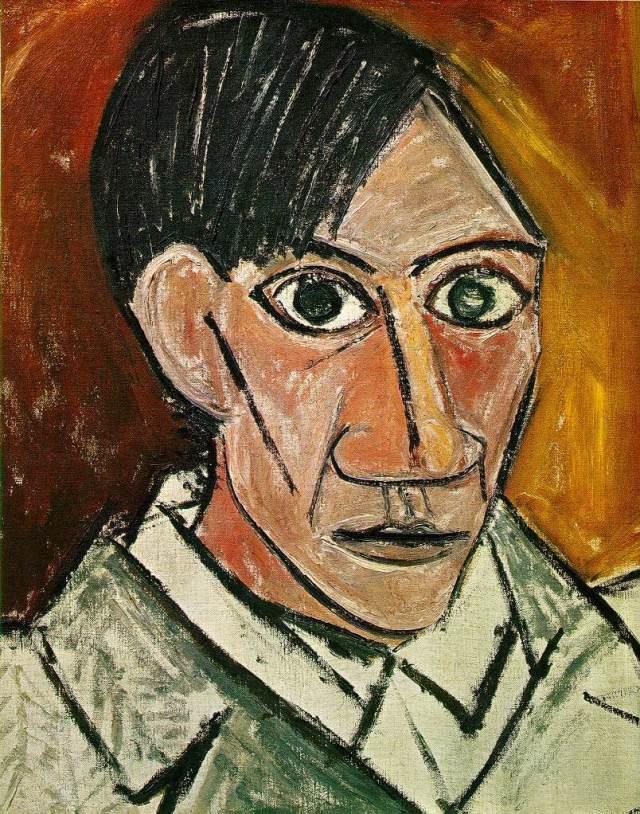 Пикассо автопортрет 1907 года