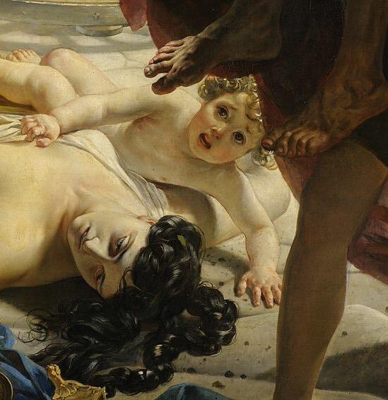 Последний день Помпеи погибшая знатная женщина