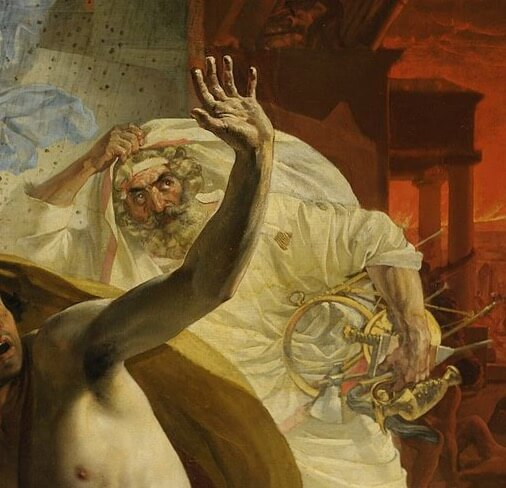 Последний день Помпеи жрец
