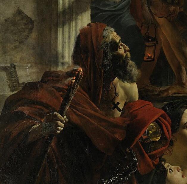 Последний день Помпеи христианский священнослужитель