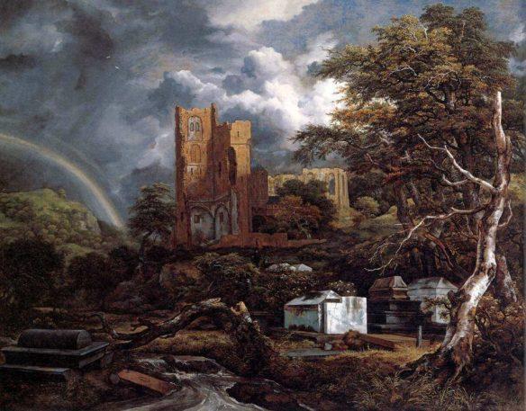Якобс Ван Рейсдал. Еврейское кладбище.