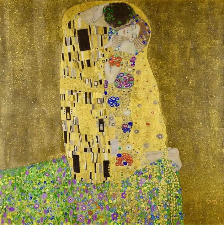 Климт Поцелуй