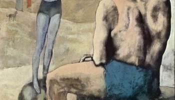 «Девочка на шаре» Пикассо. О чем рассказывает картина?