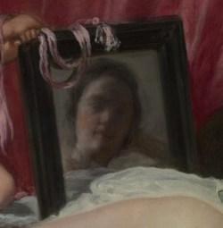 Венера перед зеркалом деталь