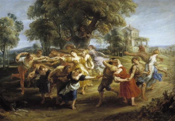 Рубенс сельский танец