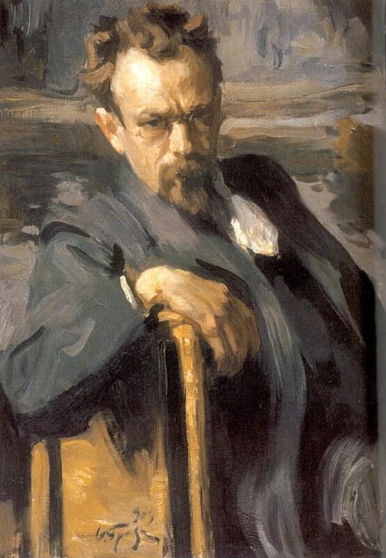 Осип Браз портрет Сергея Иванова