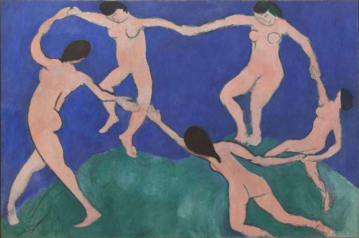 Матисс танец 1
