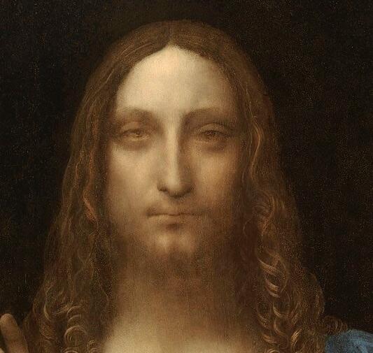 Леонардо спаситель мира фрагмент