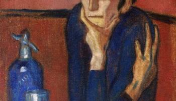 «Любительница абсента». Картина Пикассо об одиночестве