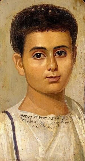 Фаюмский портрет мальчика евтихия