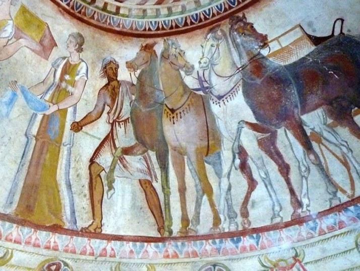 Роспись гробницы в казанлыке