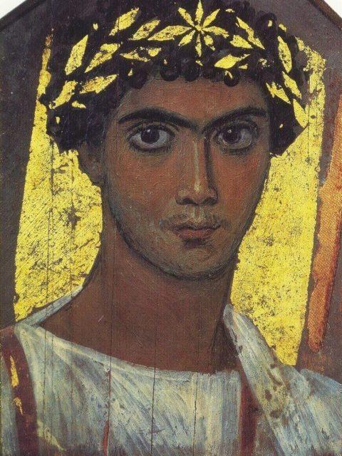 Фаюмский портрет юноши пушкинский музей