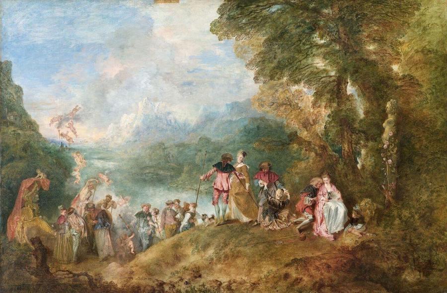 Ватто паломничество на остров Киферу