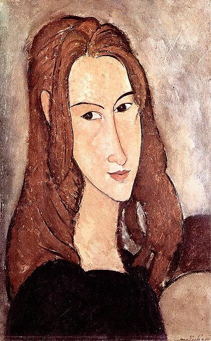 Модильяни портрет Жанны Эбютерн