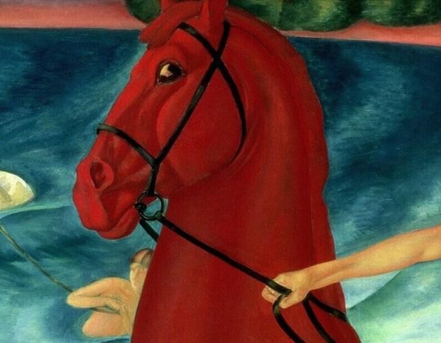 Купание красного коня деталь