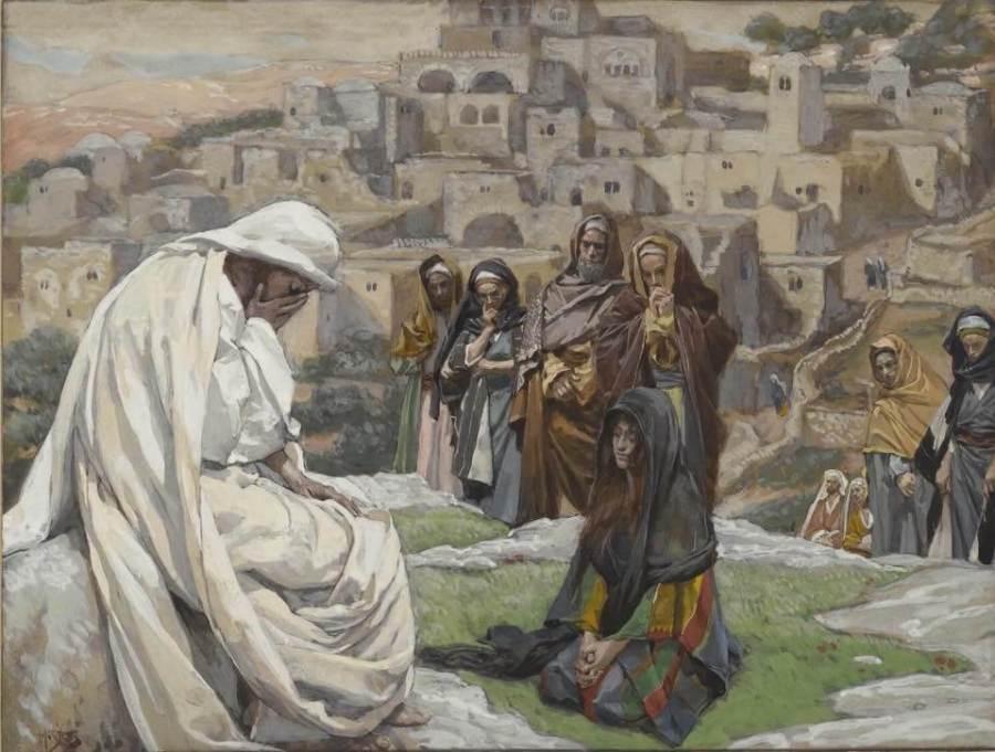 Джеймс Тиссо. Серия «Жизнь Иисуса Христа». 1889. Бруклинский музей.