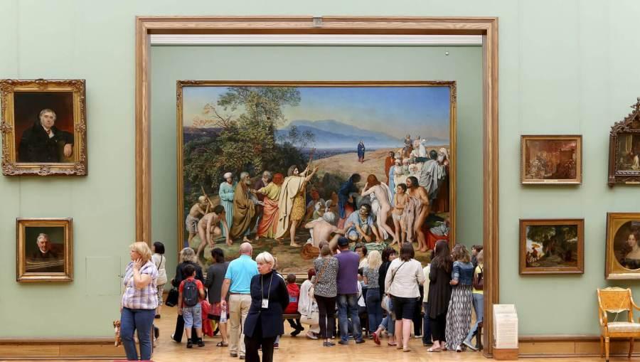 Явление Христа народу в Третьяковской галерее