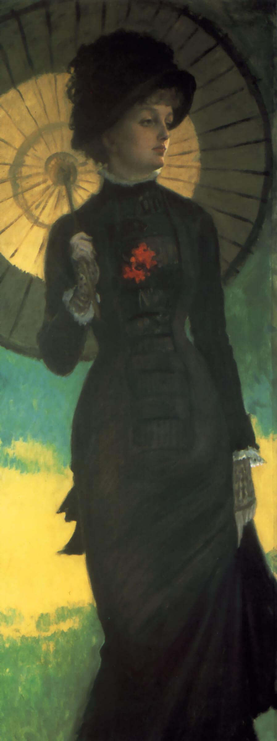 Тассо миссис ньютон с зонтиком