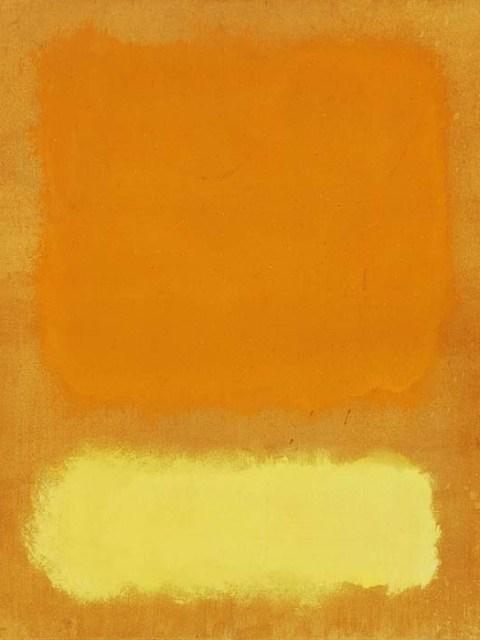 Ротко желтый и оранжевый
