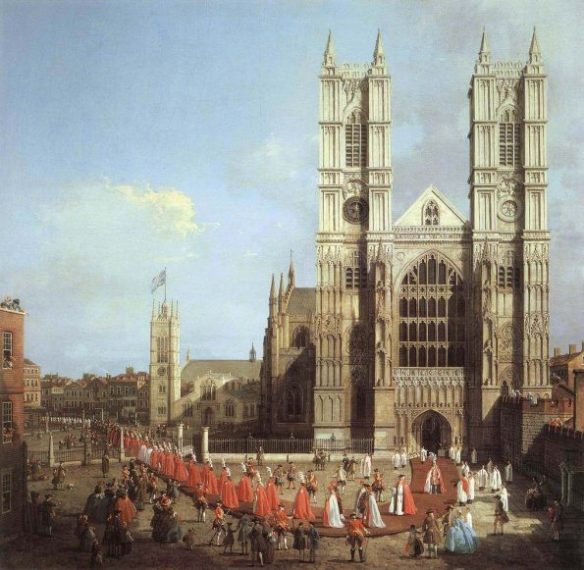 Каналетто Вестминстерское аббатство