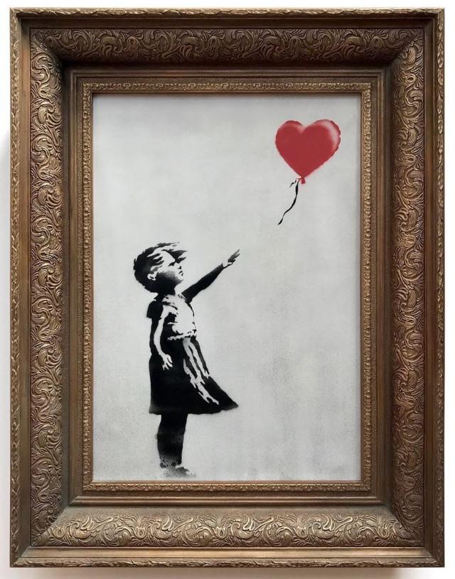 Бэнкси Девочка с шариком