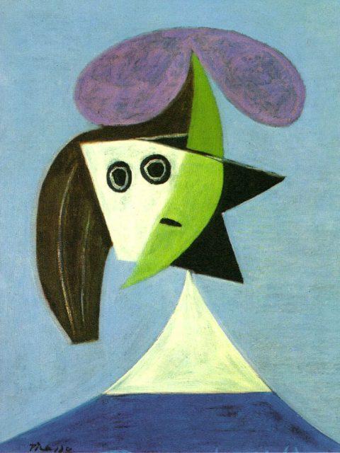 Пикассо. Женщина в шляпе