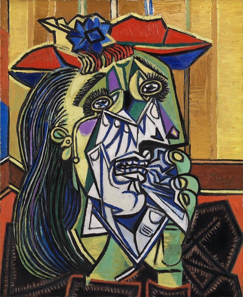 Пикассо. Плачущая женщина