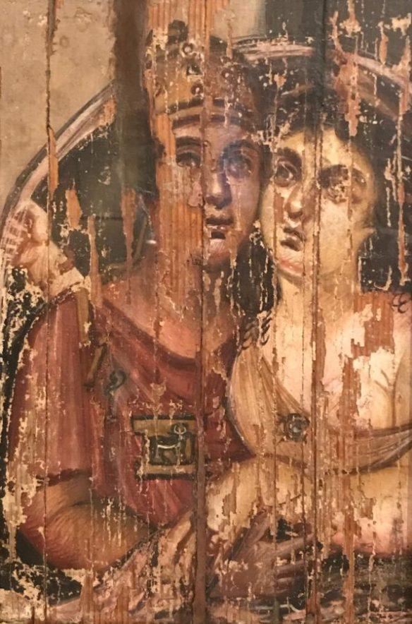 Фаюмский портрет мужчины и женцины