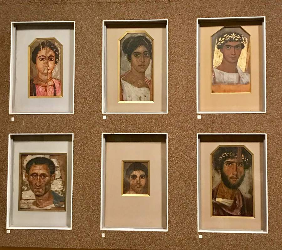 Фаюмские портреты в Пушкинском музее