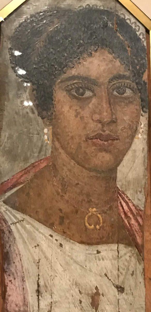Фаюмский портрет молодой женщины