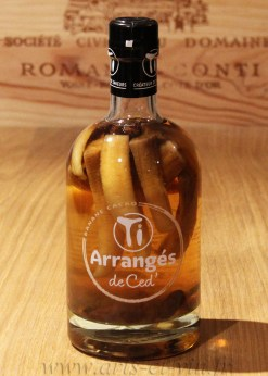 Bouteille Rhum Arrange Banane Cacao Ti Rhums de Ced