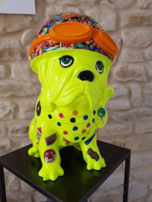 Sculpture chien Laurence Chiche 5