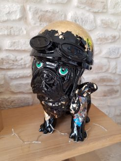 Sculpture chien Laurence Chiche 4