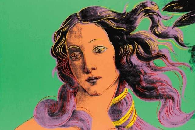 Andy Warhol. Venus Botticelli. 1982