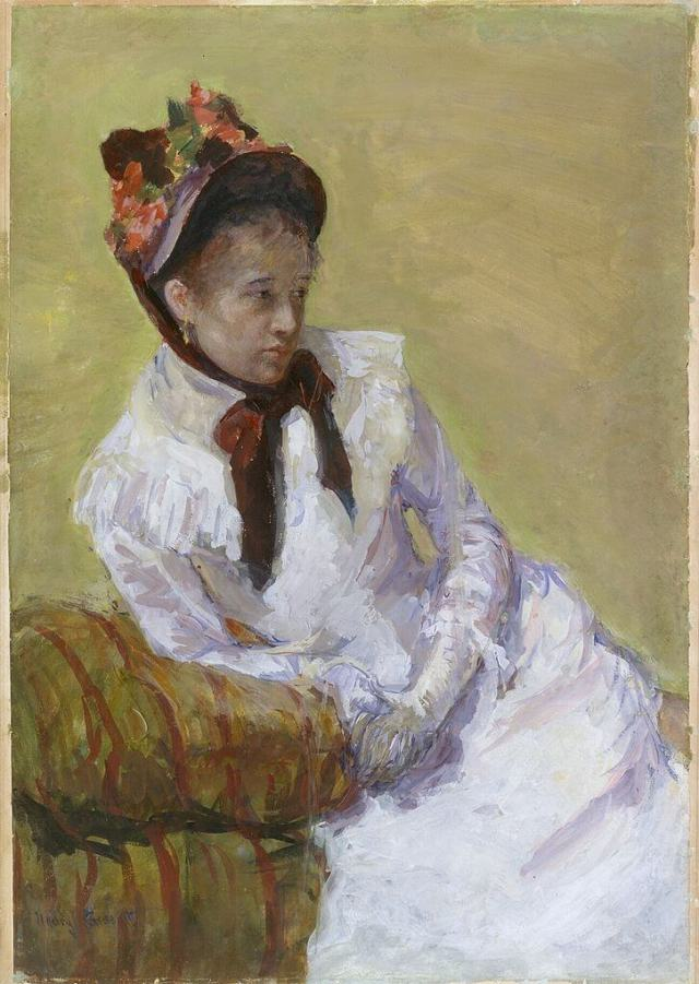 Mary Stevenson Cassatt. Self portrait