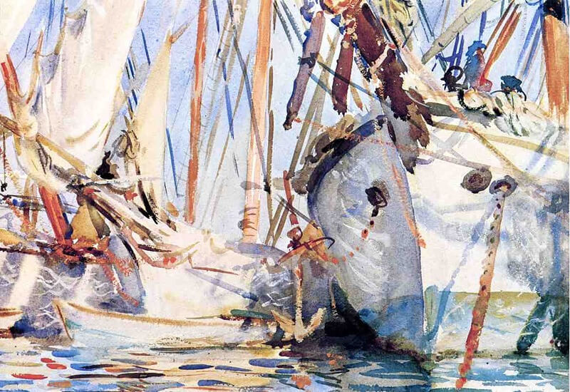 John Sargent. White Ships. 1908.
