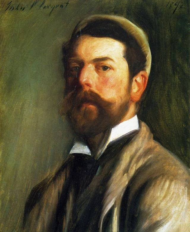 John Sargent. Self portrait. 1892