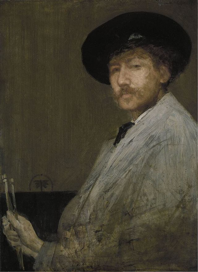 James Whistler Self portrait