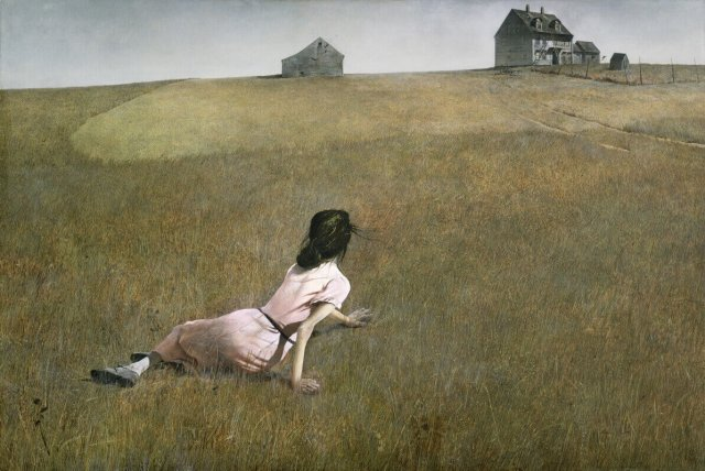 Andrew Wyeth. Christina's World. 1948.