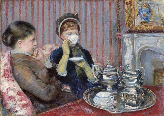 Mary Cassatt. The Tea. 1880.