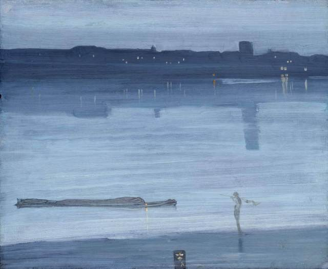 James Whistler Nocturnes in Blue and silver: Chelsea