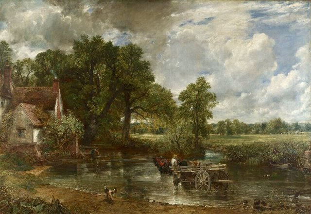 John Constable. The Hay Wain. 1821.