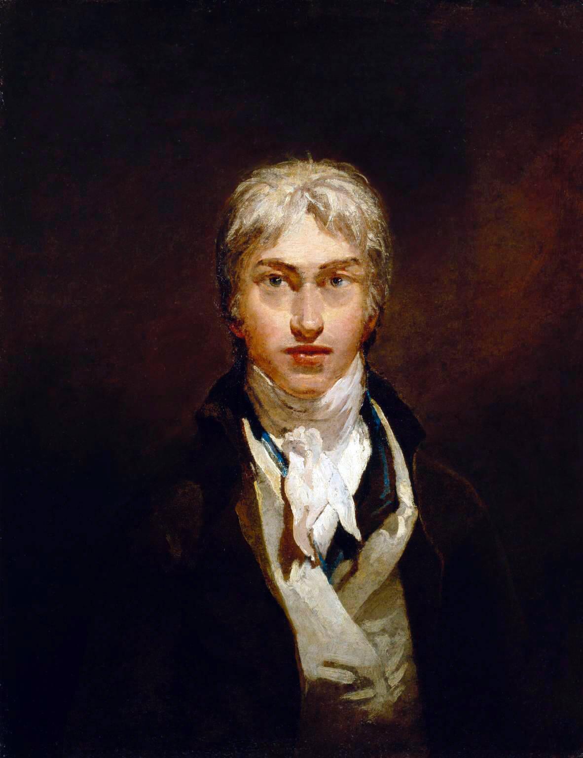 William Turner. Self-portrait. 1799.